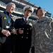 Senior leaders at Army-Navy game