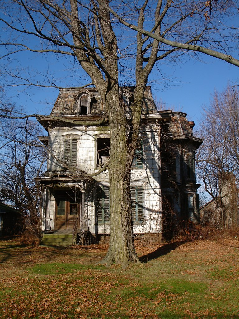 Abandoned Mansion Milan OH You Wouldnt Guess How Big Th Flickr - Milon ohio on the us map