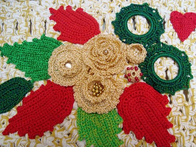 Flores de croche do pan? Flickr - Photo Sharing!