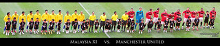 Line up : Malaysia XI vs. Manchester United in Panorama | by Sir Mart Outdoorgraphy™