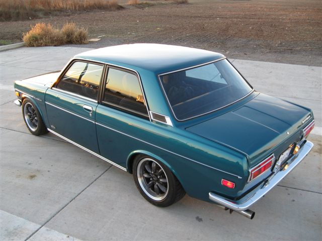 1972 datsun 510 for sale driver rear above bring a. Black Bedroom Furniture Sets. Home Design Ideas