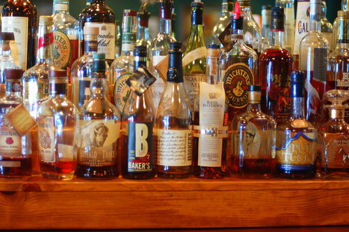 Bourbon. Lots of Bourbon at The Old Talbott Tavern, Bardstown | by Dana McMahan