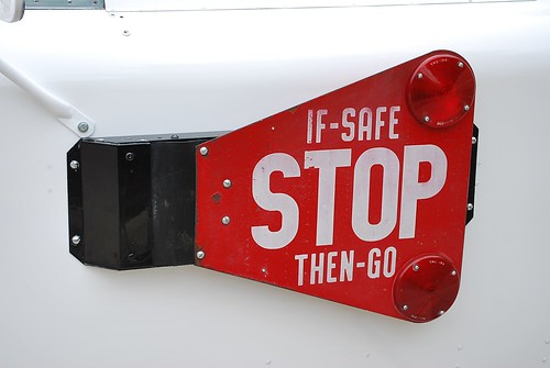 Good Humor Ice Cream truck detail - stop sign | Ford 250 ...