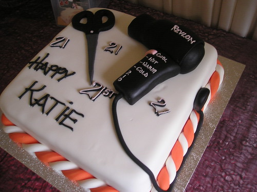 Birthday Cake For A Hairdresser