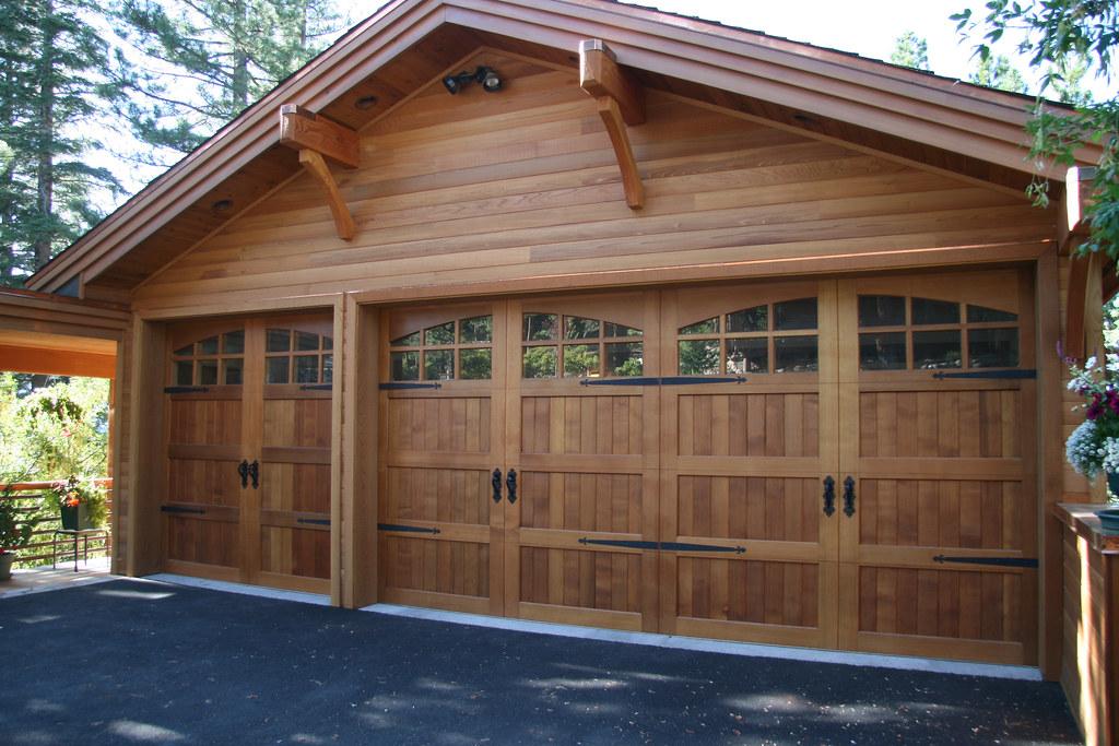 Custom Clear Cedar Garage Door Wayne Dalton Corp Dean