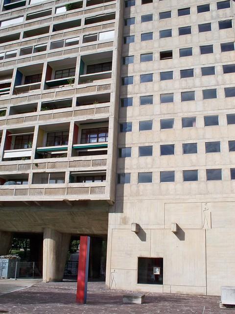 Unit d 39 habitation le corbusier marseille la cit radieuse vue du b timent flickr - La cite radieuse marseille ...
