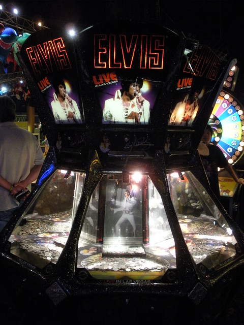Elvis presley casino slots gambling as a side effect of a drug