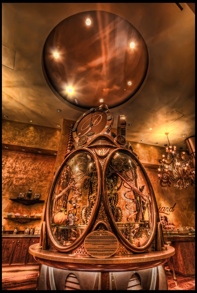 Payard Chocolate Clock Chocolate Clock Payard Bistro