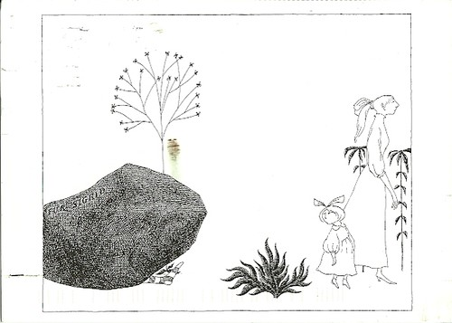 Illustration from the evil garden by edward gorey by uscshameless