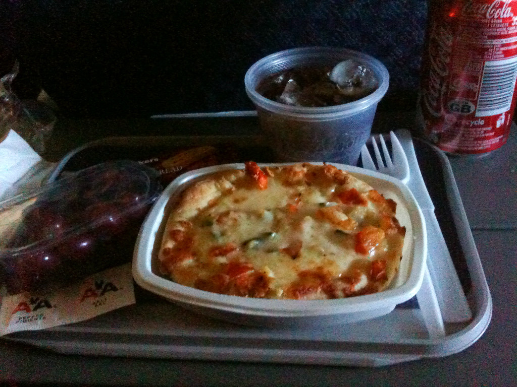 American Airlines Economy Class Meal Lhr Dfw Vegetarian