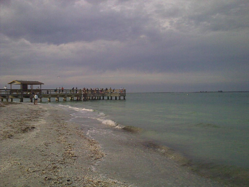 Fishing pier on sanibel island erin white flickr for Sanibel fishing pier