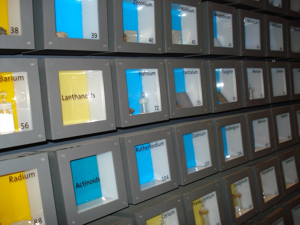 Periodic Table At The Griffith Observatory Ehousley Flickr