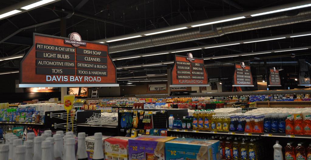 Market Decor Design | Interior Market Signage | Grocery St ...