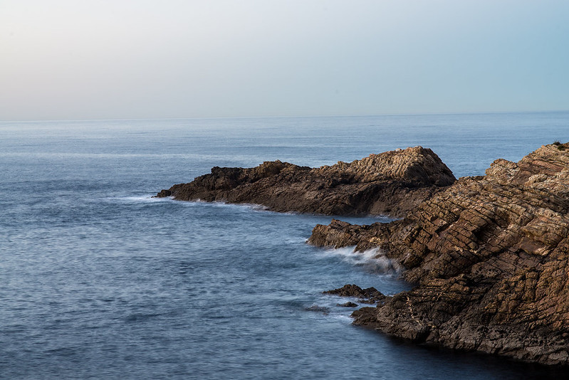 Cabo de Peñas, al atardecer