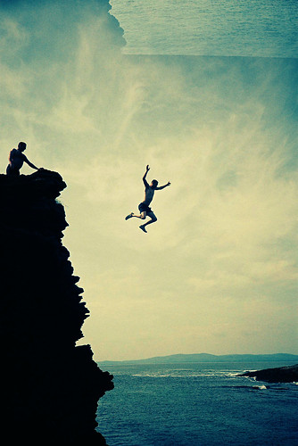 Cliff Jump | by Cormac Phelan