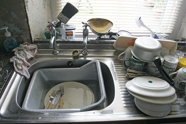 Kitchen Sink D Grate