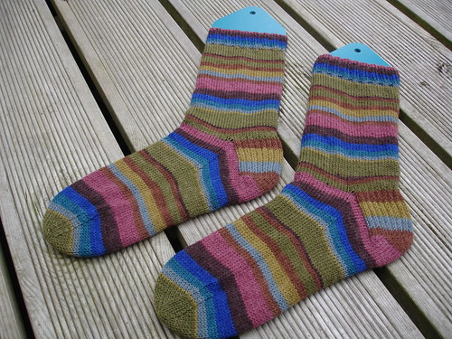 Wolfgang's stripy socks 001 | by josiekitten