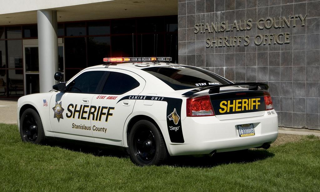 Stanislaus County Sheriff S Car Rear Three Quarter View