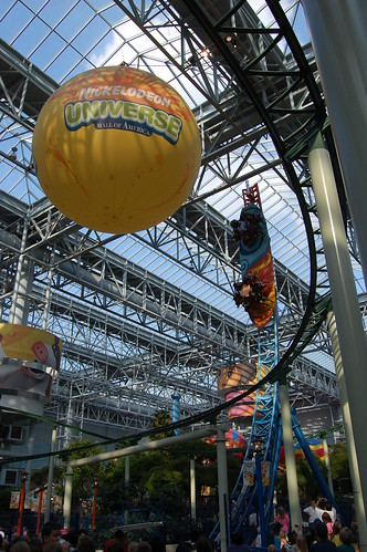 nickelodeon universe this is the avatar airbender ride
