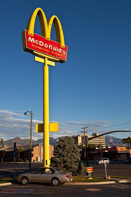 All Road Signs >> McDonald's sign | Salt Lake City, UT | Steven Wilson | Flickr