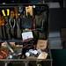 Computer repairman's suitcase, ca. 1960