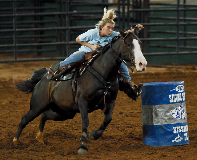 futurity barrel race
