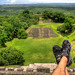 My feet in cool places: Xunantunich ruin