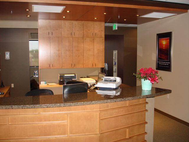 dental office reception interior dr miller dental office reception desk by design ergonomics u2026 flickr