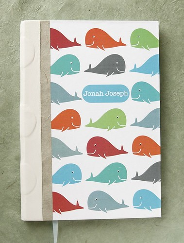 Whale Pattern Baby Book | by dwheywood