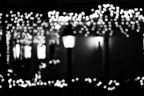 A black and white christmas by urania