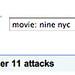 September 11 Attacks Message in Google