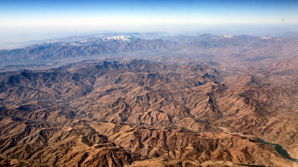 Qandil Mountains On The Border Between Iran And Iraq