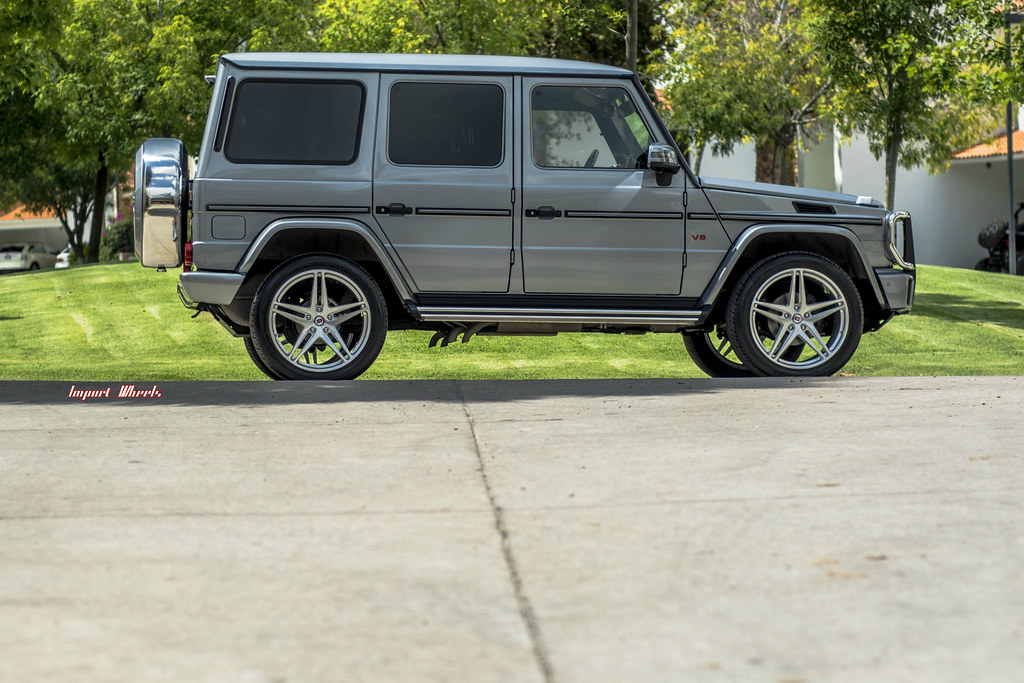 Hre wheels mercedes g55 amg with hre p107 wheels for Mercedes benz g55 power wheels