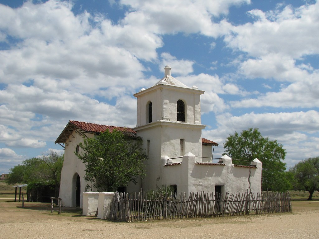 Adobe Church At The Movie Set Of Alamo Village Picture A