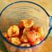 making rainier cherry sour cream muffins