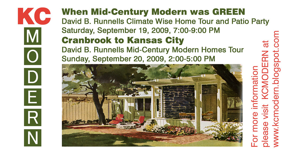 KCMODERN Mid-Century Modern Homes Tours   We are posting inf…   Flickr