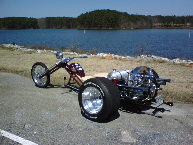 volkswagen trike  chopper trike robert mcafee flickr