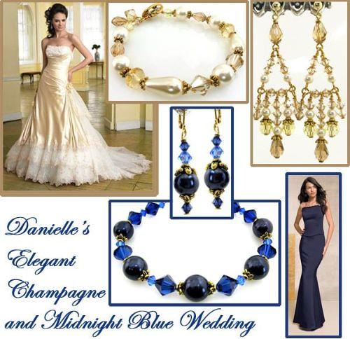 Danielle\'s Elegant Champagne & Midnight Blue Wedding | Flickr
