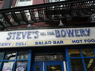 Steve's on the Bowery, Bowery, New York, NY | by k::snyder