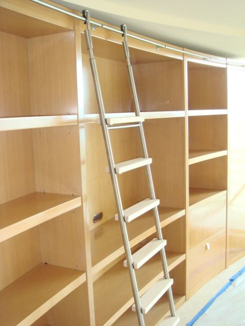 Library Ladder Bartels Usa Provides Custom Rolling