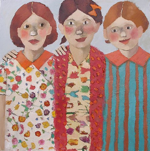 Three Young Aunts | by catriona millar