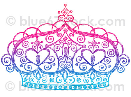 Drawing Diamond Tiara