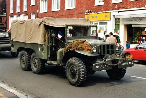 Dodge Wc63 6x6 Scan De Photo24x36 Prise 224 Amiens F 80