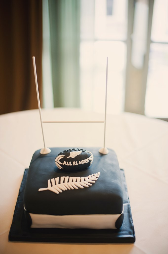 Rugby Cake New Zealand All Blacks Photo Courtesy Of