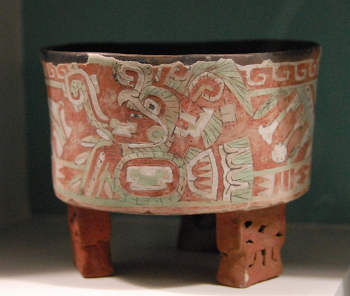 Teotihuacan Ceramic Vessel A Small Part Of Diego Rivera
