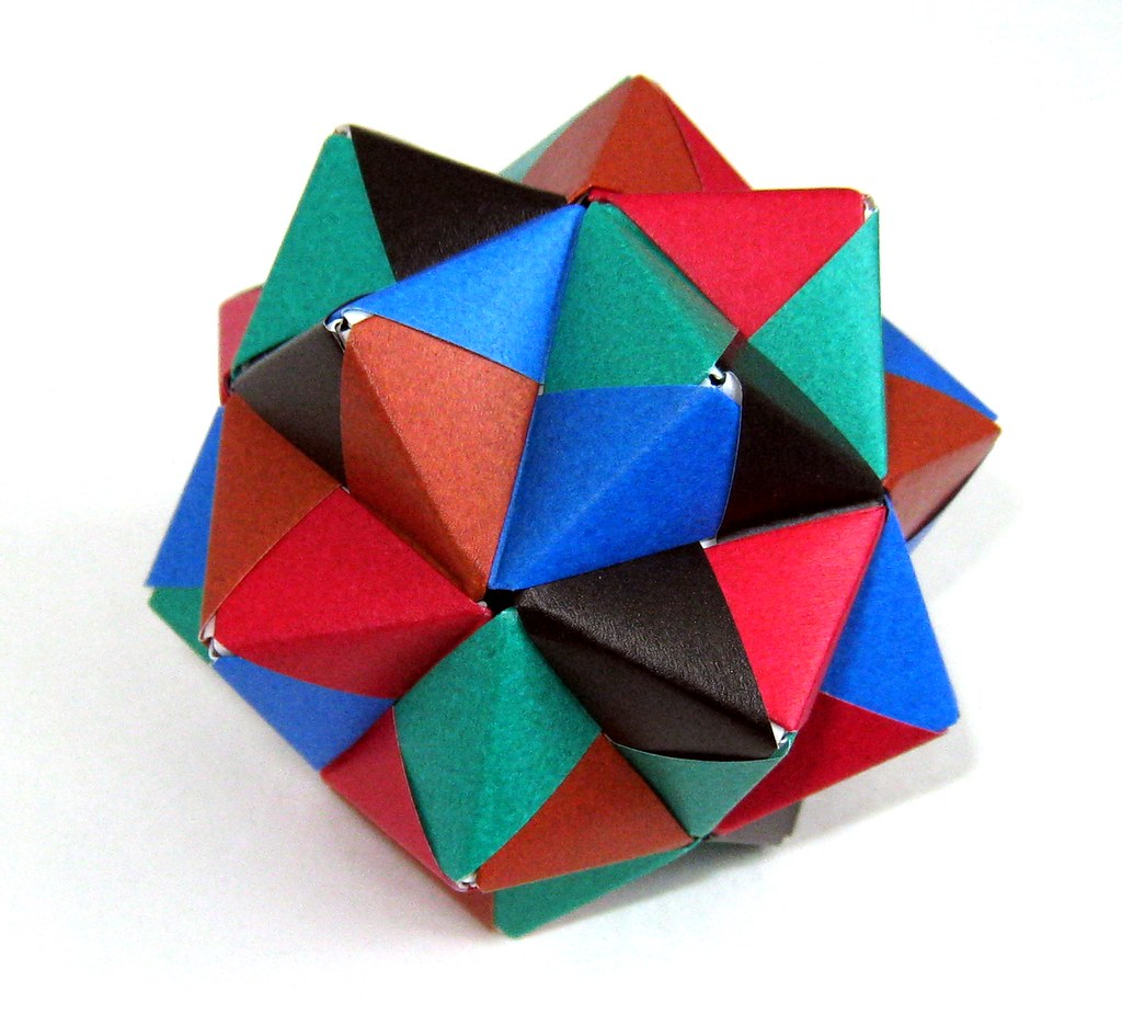 Origami stellated icosahedron endolith flickr origami stellated icosahedron by endolith origami stellated icosahedron by endolith jeuxipadfo Gallery