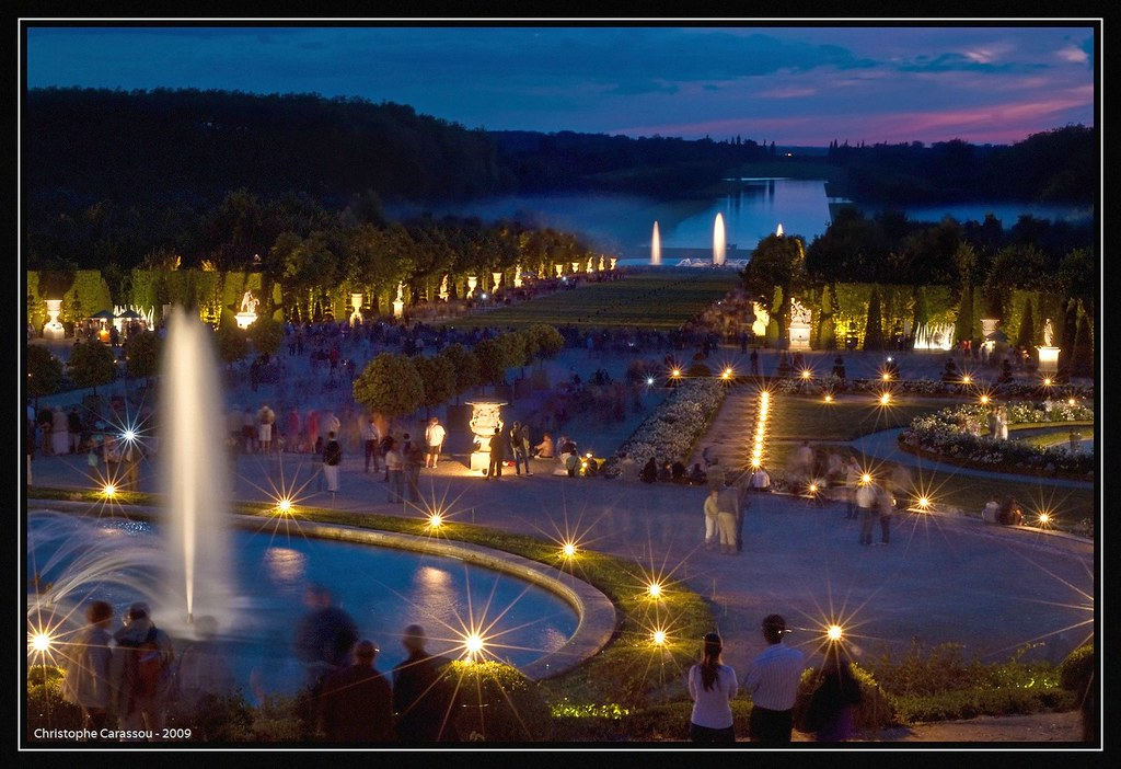 Jardin aux toiles starry night in versailles nuit bleue flickr - Jardin romantique nuit perpignan ...