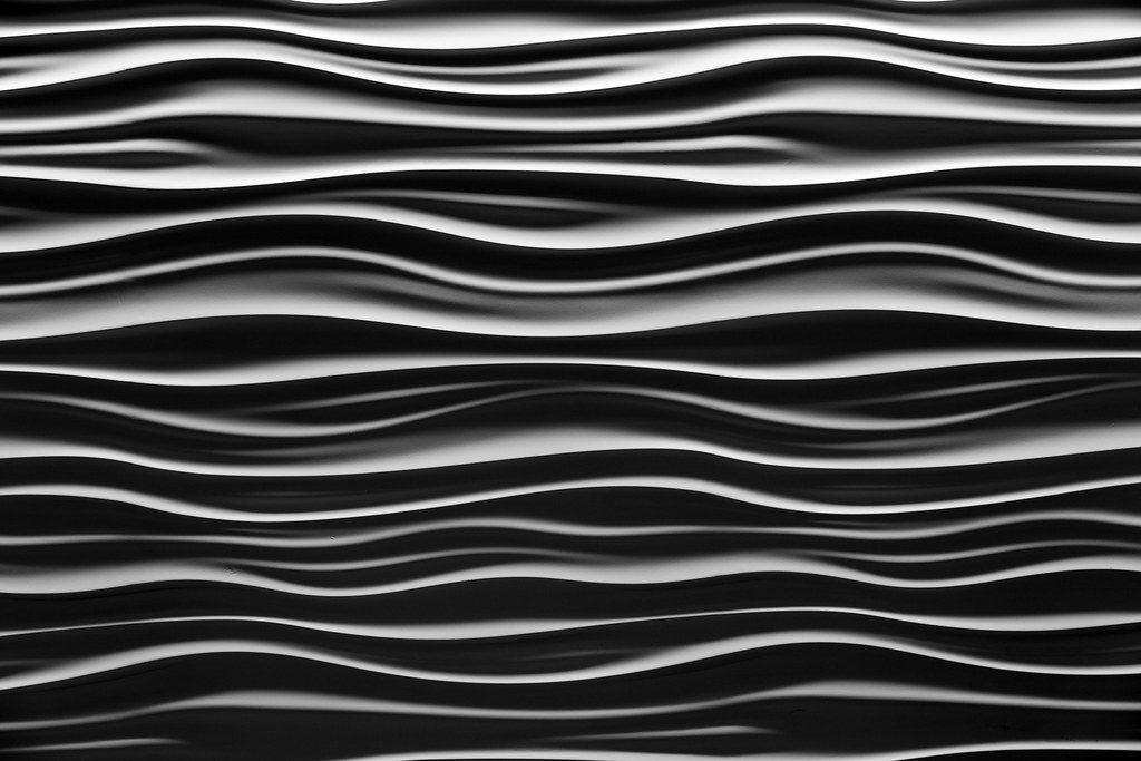 waves in plaster another composition of the textured plast