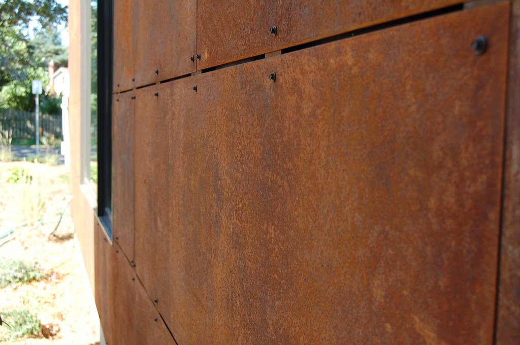 Corten Siding Weathered Steel Marisa Swenson Flickr