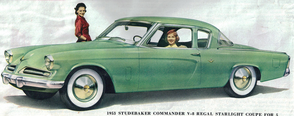1953 studebaker commander v8 regal starlight coupe flickr - 1953 studebaker champion starlight coupe ...